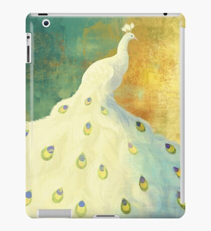 White Peacock iPad Case/Skin