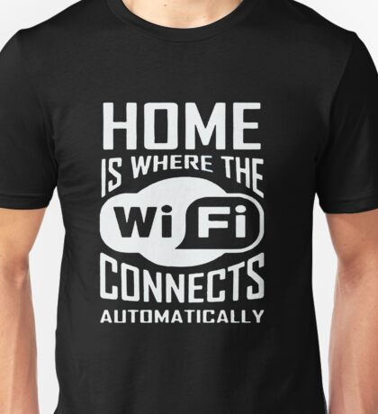 Connects Automatically Unisex T-Shirt