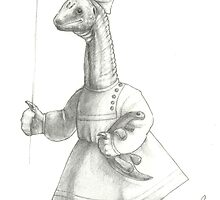 Sauropod Girl by taragildow