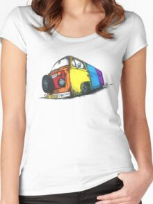 Bay Pride Women's Fitted Scoop T-Shirt