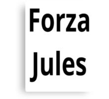 Forza Jules  Canvas Print