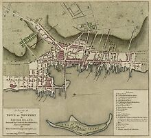Map of Newport 1777 by AndrewFare