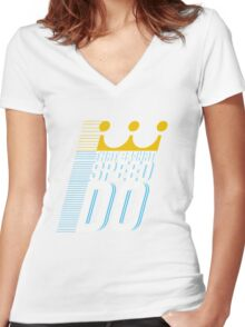 That's What Speed Do Women's Fitted V-Neck T-Shirt