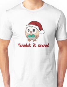 Rowlet It Snow Unisex T-Shirt