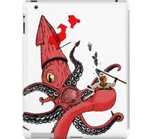 Squid Fight iPad Case/Skin
