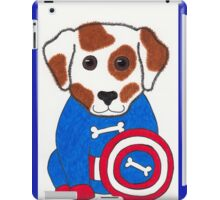 Puppy Dog America - Animal Superhero iPad Case/Skin