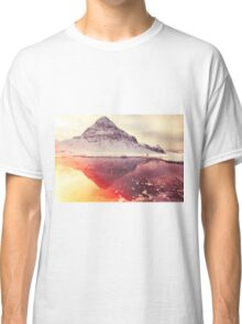 Scottish winter sunshine Classic T-Shirt