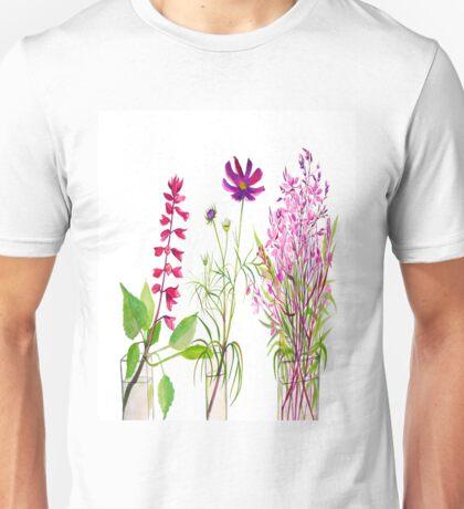 Summer Flowers Unisex T-Shirt