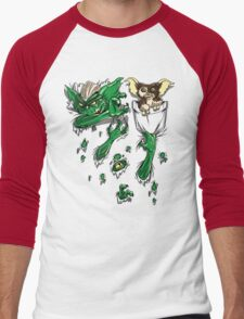 Don't Feed This Shirt After Midnight Men's Baseball ¾ T-Shirt