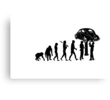 eVWolution Bug Canvas Print