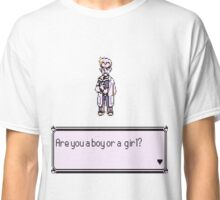 Are you a boy or a girl? Pokemon Classic T-Shirt