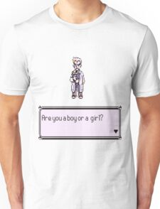Are you a boy or a girl? Pokemon Unisex T-Shirt
