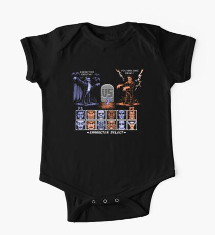 Classic Monster Fighter Kids Clothes