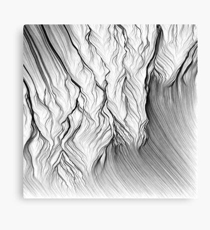 Linear Landscape 2 Canvas Print