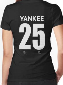Yankee Women's Fitted V-Neck T-Shirt