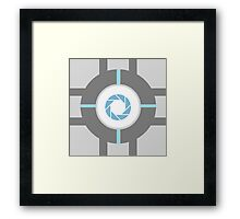 Aperture Cube Framed Print