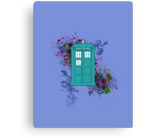 Where Would You Like to Start? - Doctor Who Canvas Print