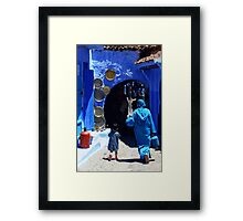The Blue City II Framed Print