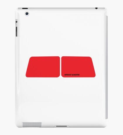 VW Bus Split Window Window Shapes iPad Case/Skin