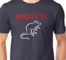 Mice Mouse or Rat in White Unisex T-Shirt