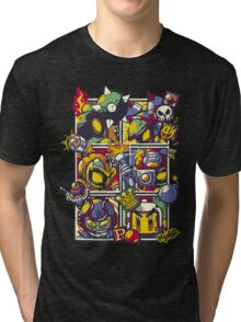 Bomber Battle - Player 01 (alternative) Tri-blend T-Shirt