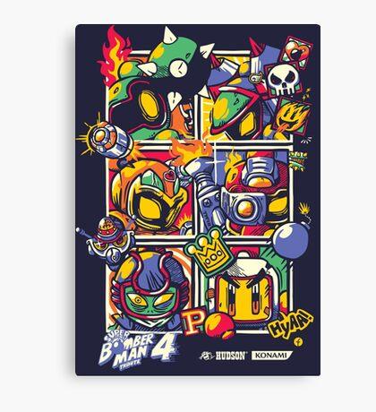 Bomber Battle - Player 01 (alternative) Canvas Print