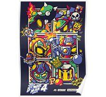 Bomber Battle - Player 01 (alternative) Poster