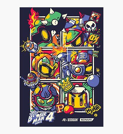 Bomber Battle - Player 01 (alternative) Photographic Print