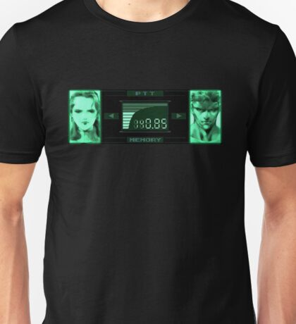 snake codec paramedic ps one metal gear Unisex T-Shirt