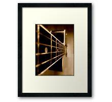 SOLD - CARAMEL DELIGHT Framed Print