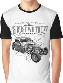 In Rust We Trust C,D & R Graphic T-Shirt