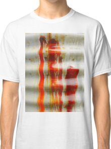Aussie Corrugated Galvanised Iron Abstract #2 Classic T-Shirt