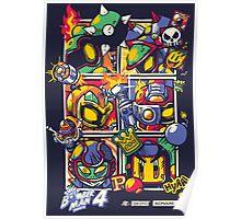 Bomber Battle - Player 02 Poster