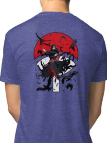 Dark Brother With His Crows Tri-blend T-Shirt