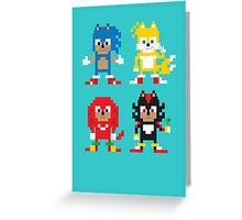 Sonic and Friends Greeting Card