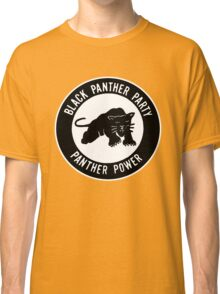 The Power of Black is Panther Classic T-Shirt