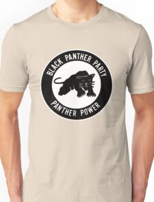 The Power of Black is Panther Unisex T-Shirt