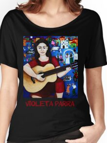 """Violeta Parra  and the song """"Black wedding""""  Women's Relaxed Fit T-Shirt"""