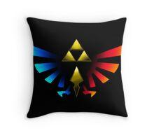 Legend of Zelda Emblem Throw Pillow