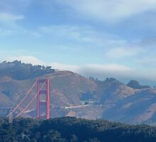 Golden Gate Bridge to the North by David Denny