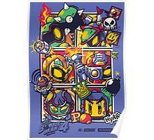 Bomber Battle - Player 04 Poster