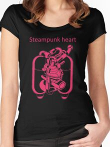 My Heart Have Steampunk Technology Women's Fitted Scoop T-Shirt