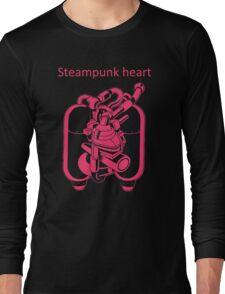My Heart Have Steampunk Technology Long Sleeve T-Shirt