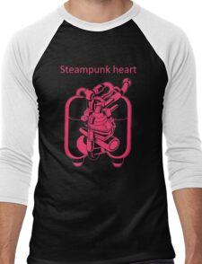 My Heart Have Steampunk Technology Men's Baseball ¾ T-Shirt