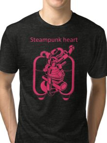 My Heart Have Steampunk Technology Tri-blend T-Shirt