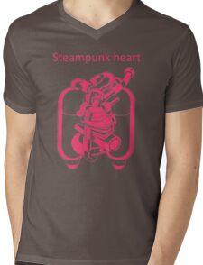 My Heart Have Steampunk Technology Mens V-Neck T-Shirt