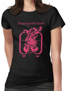 My Heart Have Steampunk Technology Womens Fitted T-Shirt