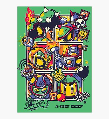 Bomber Battle - Player 05 Photographic Print