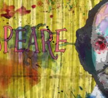 William Shakespeare - Watercolor Version  Sticker
