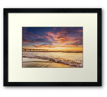 Theres always another day Framed Print
